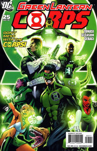Cover Thumbnail for Green Lantern Corps (DC, 2006 series) #25