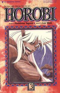 Cover Thumbnail for Horobi (Viz, 1990 series) #3