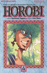 Cover Thumbnail for Horobi (Viz, 1990 series) #4