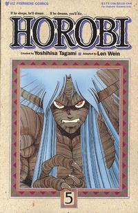 Cover Thumbnail for Horobi (Viz, 1990 series) #5