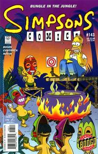 Cover Thumbnail for Simpsons Comics (Bongo, 1993 series) #143