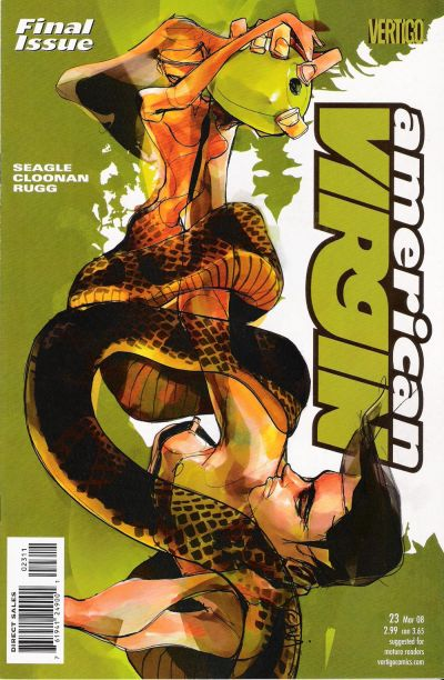 Cover for American Virgin (DC, 2006 series) #23