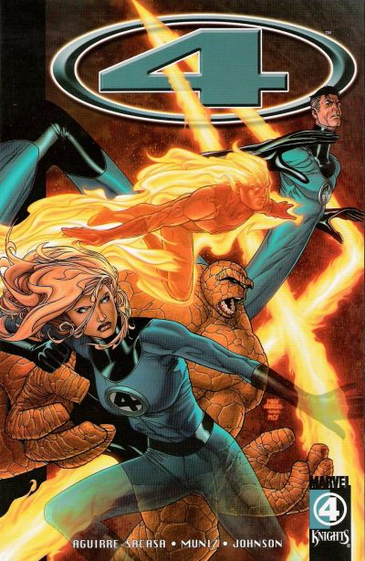 Cover for Marvel Knights 4 (Marvel, 2004 series) #2 - The Stuff of Nightmares