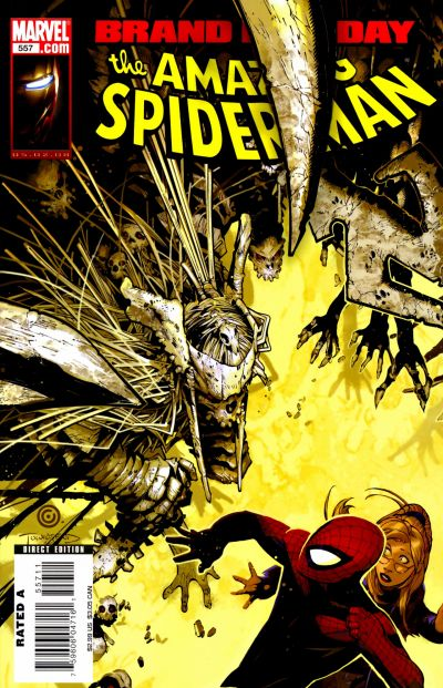 Cover for The Amazing Spider-Man (Marvel, 1999 series) #557