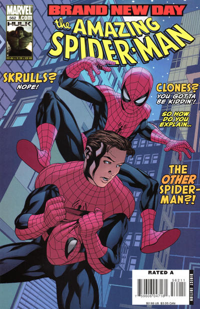 Cover for The Amazing Spider-Man (Marvel, 1999 series) #562
