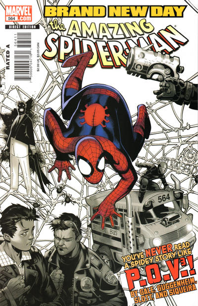 Cover for The Amazing Spider-Man (Marvel, 1999 series) #564