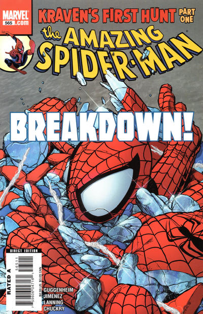 Cover for The Amazing Spider-Man (Marvel, 1999 series) #565