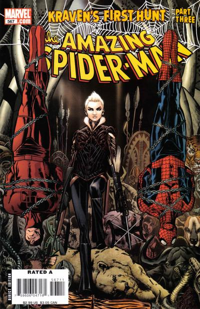 Cover for The Amazing Spider-Man (Marvel, 1999 series) #567