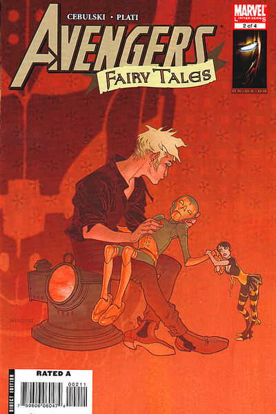 Cover for Avengers Fairy Tales (Marvel, 2008 series) #2