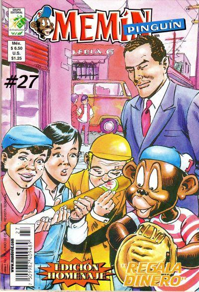 Cover for Memín Pinguín (Grupo Editorial Vid, 2005 series) #27