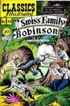 Cover for Classics Illustrated (Gilberton, 1947 series) #42 [O] - Swiss Family Robinson