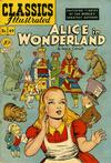 Cover for Classics Illustrated (Gilberton, 1947 series) #49 [O] - Alice in Wonderland [10¢]