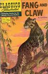Cover for Classics Illustrated (Gilberton, 1947 series) #123 [O] - Fang and Claw