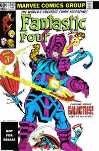 Cover Thumbnail for Fantastic Four No. 243 [Marvel Legends Reprint] (Marvel, 2006 series)