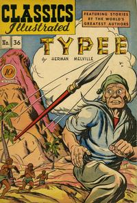Cover Thumbnail for Classics Illustrated (Gilberton, 1947 series) #36 [O] - Typee
