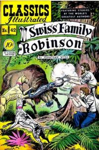 Cover Thumbnail for Classics Illustrated (Gilberton, 1947 series) #42 [O] - Swiss Family Robinson