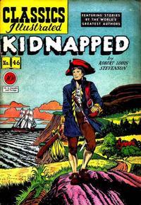Cover Thumbnail for Classics Illustrated (Gilberton, 1947 series) #46 [O] - Kidnapped