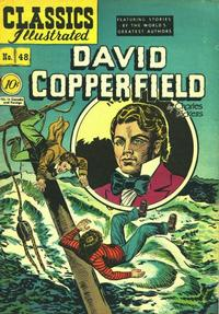 Cover Thumbnail for Classics Illustrated (Gilberton, 1947 series) #48 [O] - David Copperfield