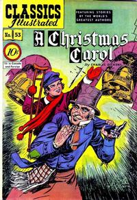 Cover Thumbnail for Classics Illustrated (Gilberton, 1947 series) #53 [O] - A Christmas Carol
