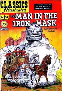 Cover Thumbnail for Classics Illustrated (Gilberton, 1947 series) #54 [O] - The Man in the Iron Mask
