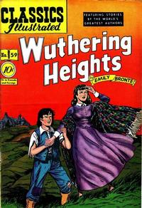 Cover Thumbnail for Classics Illustrated (Gilberton, 1947 series) #59 [O] - Wuthering Heights