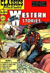 Cover Thumbnail for Classics Illustrated (Gilberton, 1947 series) #62 [O] - Western Stories