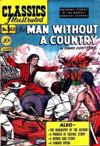 Cover Thumbnail for Classics Illustrated (Gilberton, 1947 series) #63 [O] - The Man Without a Country