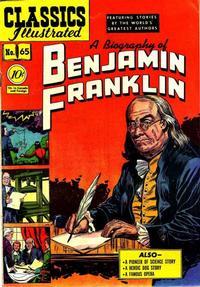 Cover Thumbnail for Classics Illustrated (Gilberton, 1947 series) #65 [O] - Benjamin Franklin