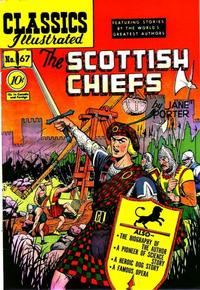 Cover Thumbnail for Classics Illustrated (Gilberton, 1947 series) #67 [O] - The Scottish Chiefs