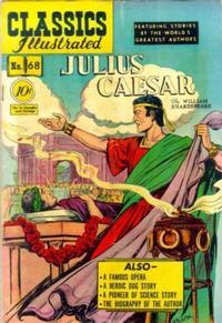 Cover Thumbnail for Classics Illustrated (Gilberton, 1947 series) #68 [O] - Julius Caesar