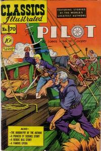 Cover Thumbnail for Classics Illustrated (Gilberton, 1947 series) #70 [O] - The Pilot