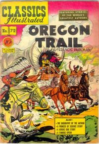 Cover Thumbnail for Classics Illustrated (Gilberton, 1947 series) #72 [O] - The Oregon Trail