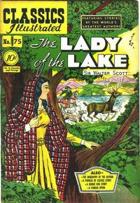Cover Thumbnail for Classics Illustrated (Gilberton, 1947 series) #75 [O] - The Lady of the Lake