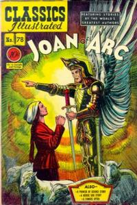 Cover Thumbnail for Classics Illustrated (Gilberton, 1947 series) #78 [O] - Joan of Arc