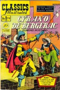 Cover Thumbnail for Classics Illustrated (Gilberton, 1947 series) #79 [O] - Cyrano de Bergerac