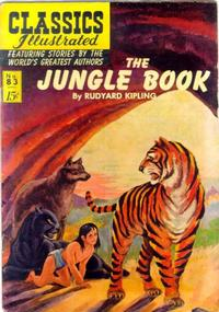 Cover Thumbnail for Classics Illustrated (Gilberton, 1947 series) #83 [O] - The Jungle Book