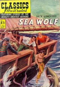 Cover Thumbnail for Classics Illustrated (Gilberton, 1947 series) #85 [O] - Sea Wolf