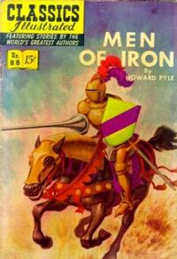 Cover Thumbnail for Classics Illustrated (Gilberton, 1947 series) #88 [O] - Men of Iron