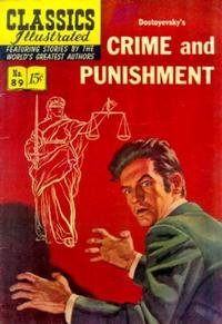 Cover Thumbnail for Classics Illustrated (Gilberton, 1947 series) #89 [O] - Crime and Punishment