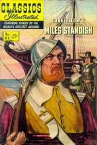 Cover Thumbnail for Classics Illustrated (Gilberton, 1947 series) #92 [O] - The Courtship of Miles Standish and Evangeline