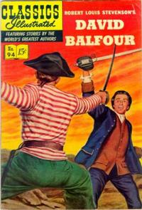 Cover Thumbnail for Classics Illustrated (Gilberton, 1947 series) #94 [O] - David Balfour