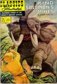 Cover Thumbnail for Classics Illustrated (Gilberton, 1947 series) #97 [O] - King Solomon's Mines