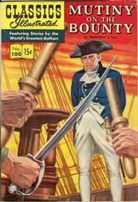 Cover Thumbnail for Classics Illustrated (Gilberton, 1947 series) #100 [O] - Mutiny on the Bounty