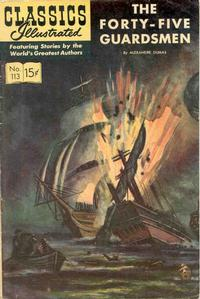 Cover Thumbnail for Classics Illustrated (Gilberton, 1947 series) #113 [O] - The Forty-Five Guardsmen