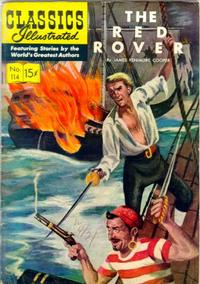 Cover Thumbnail for Classics Illustrated (Gilberton, 1947 series) #114 [O] - The Red Rover