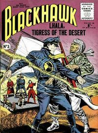 Cover Thumbnail for Blackhawk (Thorpe & Porter, 1956 series) #3