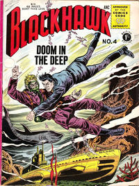 Cover for Blackhawk (Thorpe & Porter, 1956 series) #4