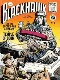 Cover Thumbnail for Blackhawk (Thorpe & Porter, 1956 series) #5
