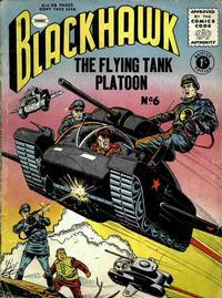 Cover Thumbnail for Blackhawk (Thorpe & Porter, 1956 series) #6
