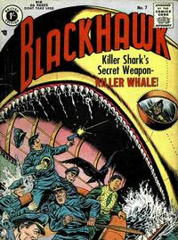 Cover Thumbnail for Blackhawk (Thorpe & Porter, 1956 series) #7
